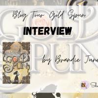 Interview with Brandie June: Gold Spun (Blog Tour)